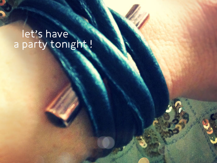 Let's Have A Party Tonight Armband..!!