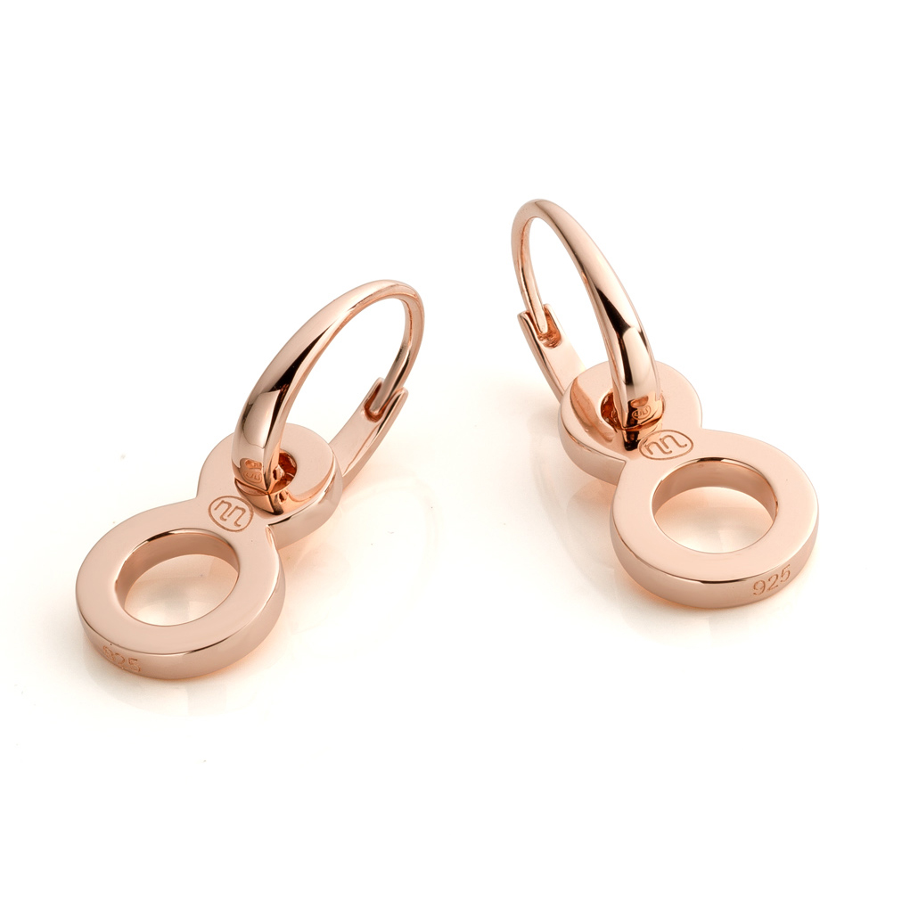 Earrings EIGHGT CLIP Rose