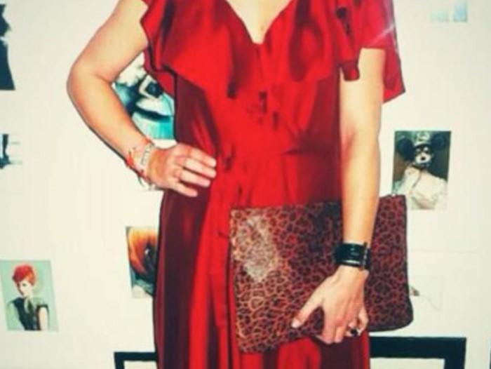 December 2013: Carolien Spoor Gespot Met De Tube Armband!