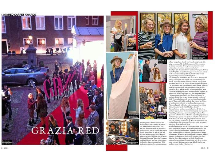 Oktober 2013: Grazia Red Carpet Award