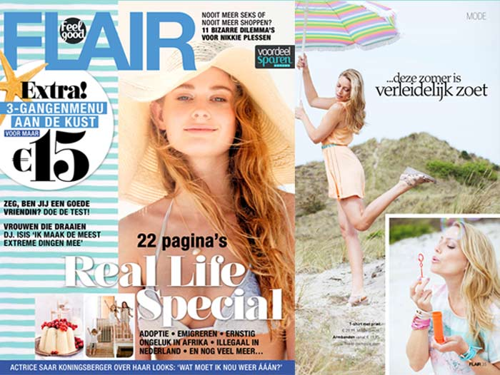 Augustus 2014: Alweer Zo'n Vrolijke Productie In Flair !