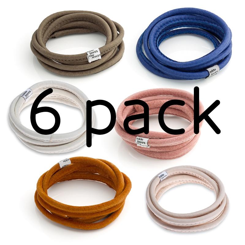 6-Pack Lederen Koord