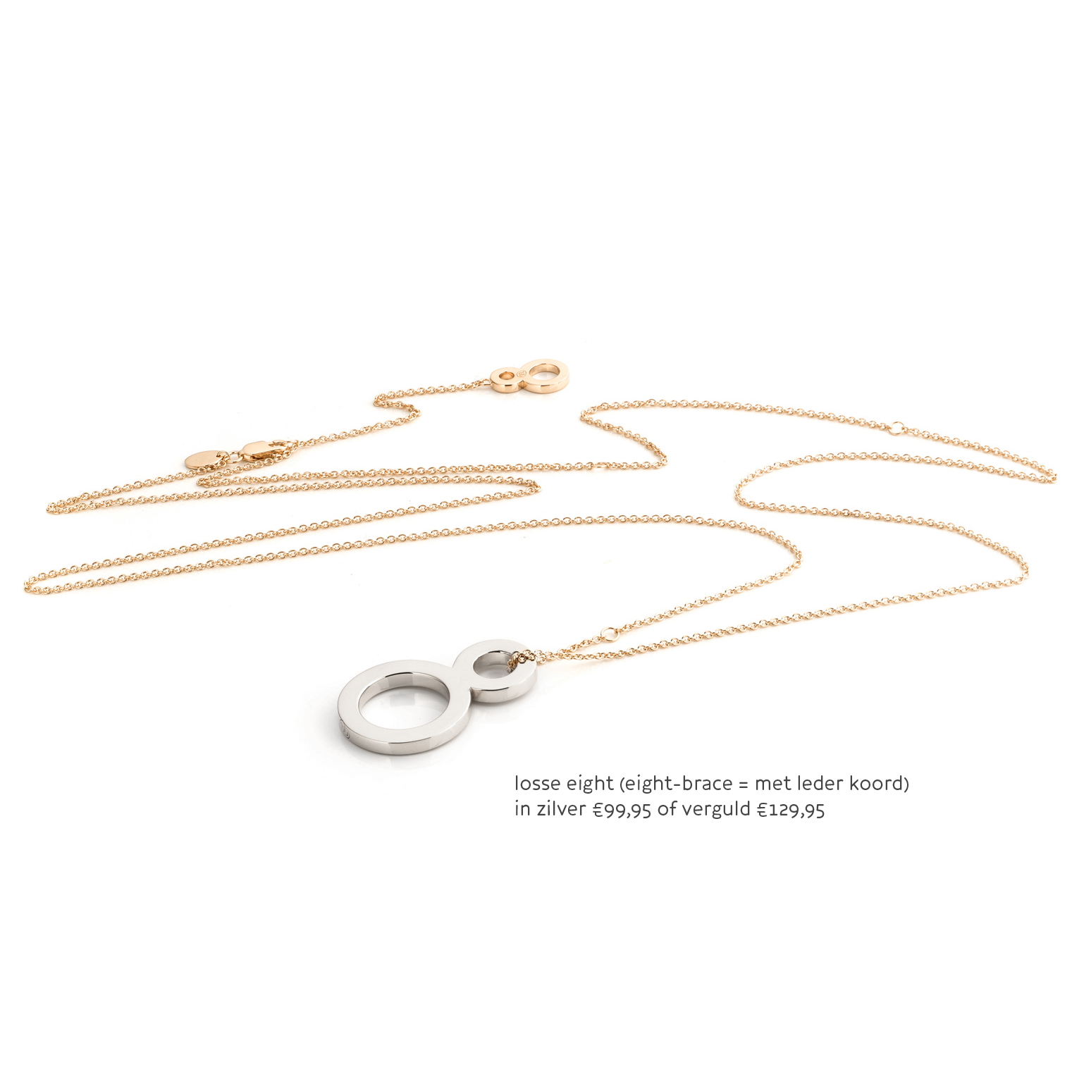 Necklace LONG Gold Los 8